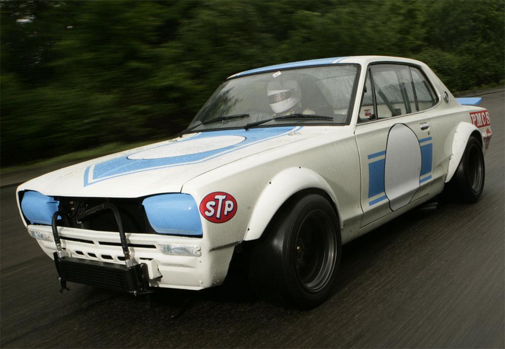 nissan gt r rally car photo 1 9309