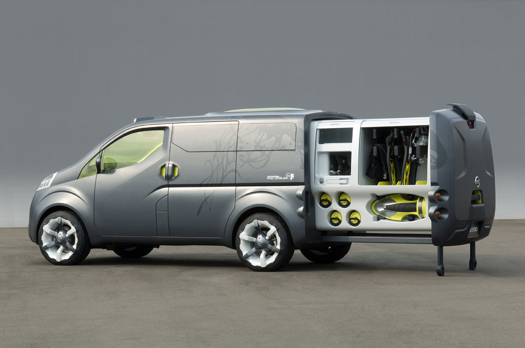 nissan nv200 photo 20 1297. Black Bedroom Furniture Sets. Home Design Ideas