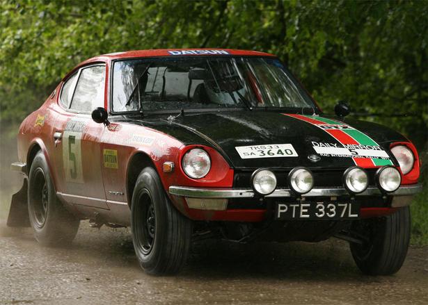 nissan gt r rally car