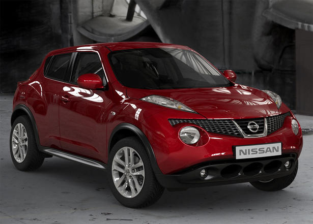 nissan juke test video