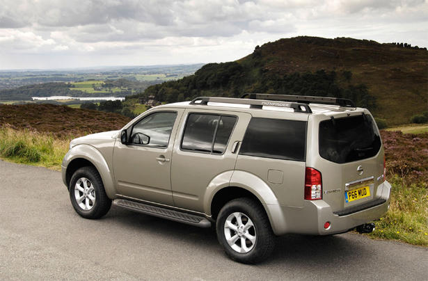 Nissan Pathfinder And Navara Mammoth