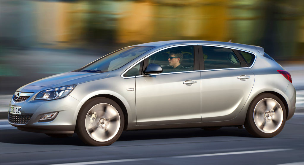 2010 Opel Astra. Back to 2010 Opel Astra