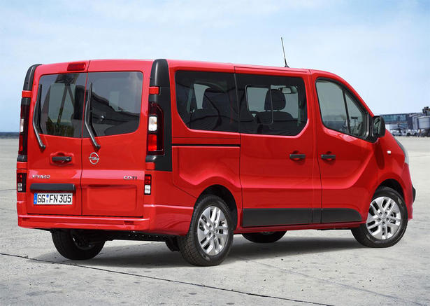 2015 opel vivaro combi in one mean looking van. Black Bedroom Furniture Sets. Home Design Ideas