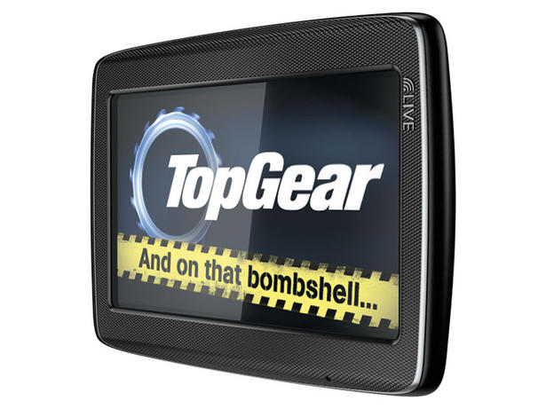 Tomtom Top Gear Satnav