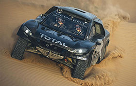 Peugeot 2008 DKR16 Dakar Rally Car Photos