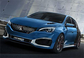 Peugeot 308 R HYbrid Revealed With 500 hp Photos
