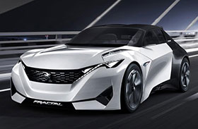 Peugeot Fractal Electric Concept Photos