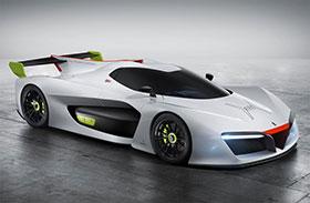 Pininfarina H2 Speed Hydrogen Race Car Photos