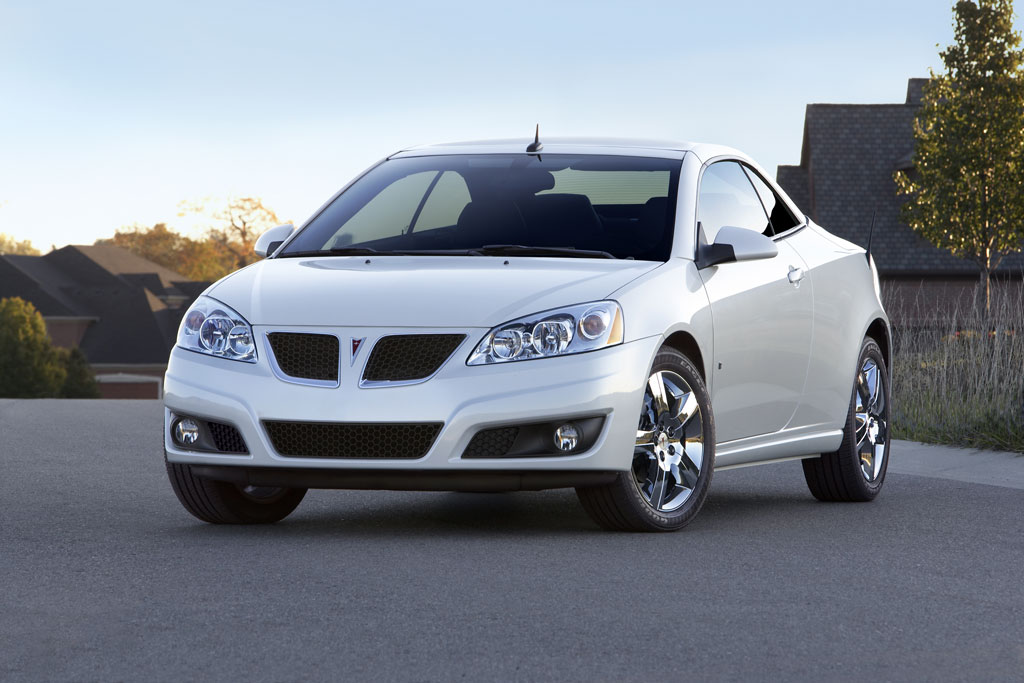 2009 Pontiac G6 Convertible Photo 4 4859