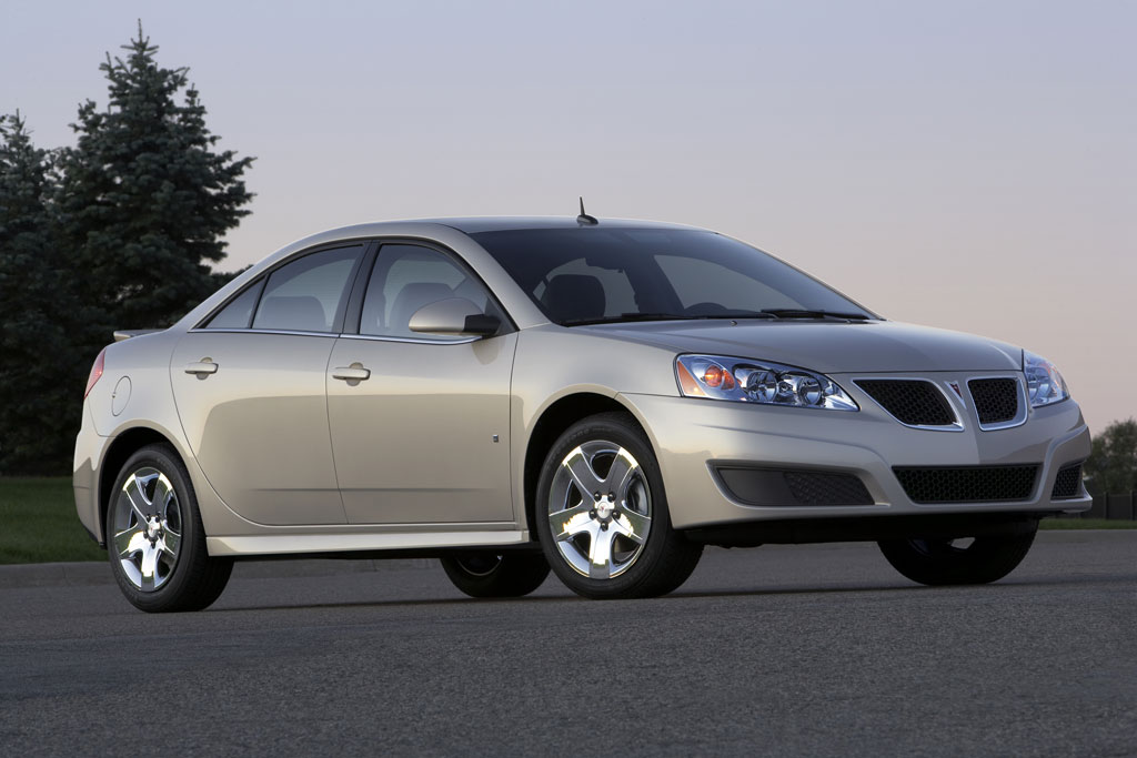 2009 Pontiac G6 Sedan Photo 3 4859