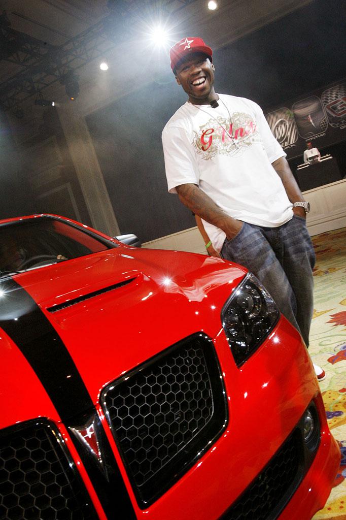50 Cent Pontiac G8 Photo 3 1534
