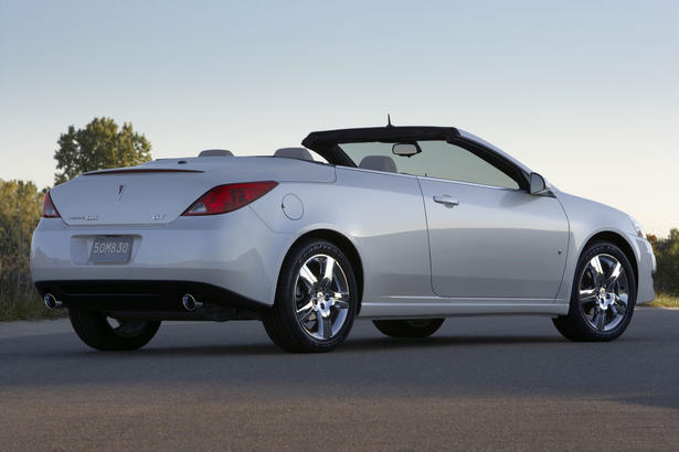 2009 Pontiac G6 Coupe Sedan And Convertible