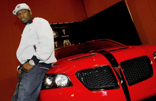 50 Cents Pontiac G8