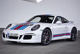 Porsche 911 S Martini Racing Edition Photos