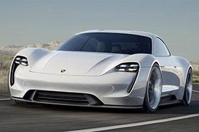 Porsche Mission E Concept Photos