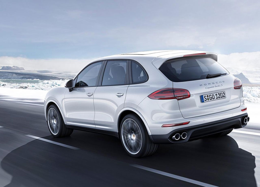 2016 Porsche Cayenne Turbo S Photos  Image 4