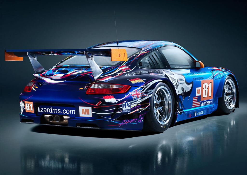 Flying Lizard Porsche 911 Gt3 Rsr Photo 2 11119