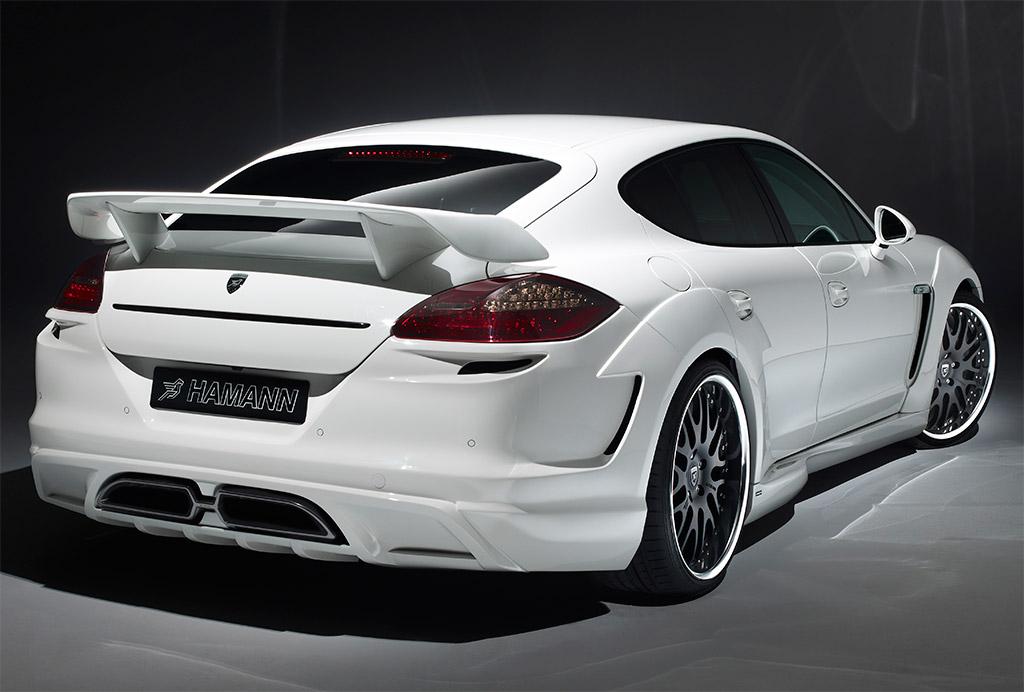hamann cyrano porsche panamera turbo 2 - White Porsche Panamera Turbo