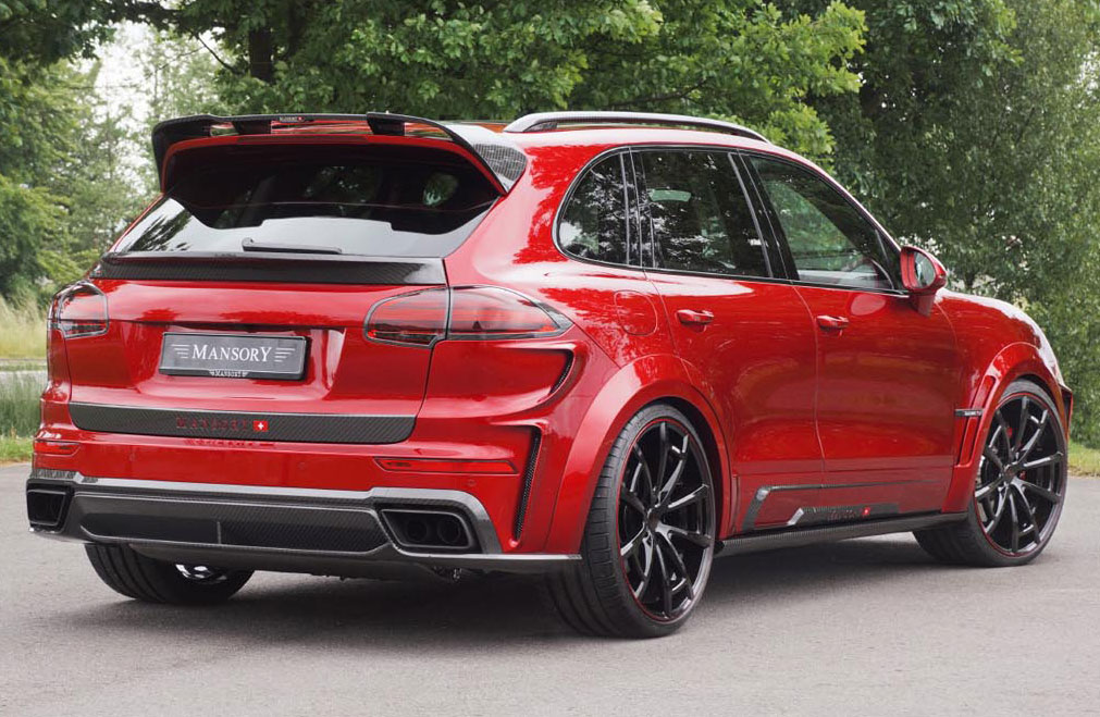 Mansory 2015 Porsche Cayenne Turbo Photo 2 14606