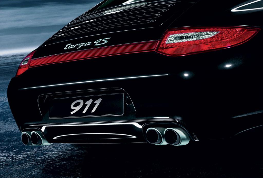 Porsche 911 Carrera Targa 4 Photo Exhaust 5217