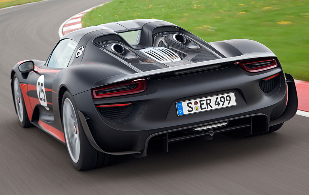 porsche 918 spyder in detail photos image 2. Black Bedroom Furniture Sets. Home Design Ideas