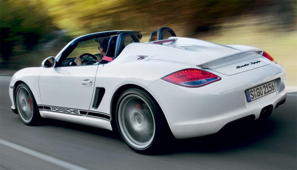 Porsche Boxster Spyder Photo 3 10388
