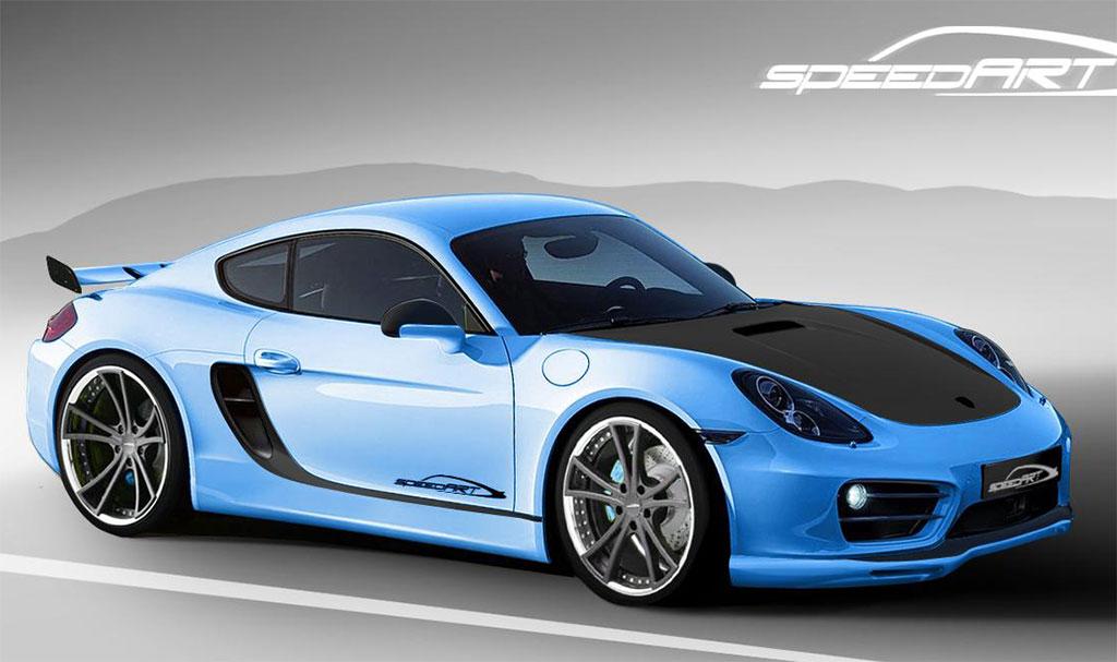 Speedart Porsche Cayman Photo 1 12927