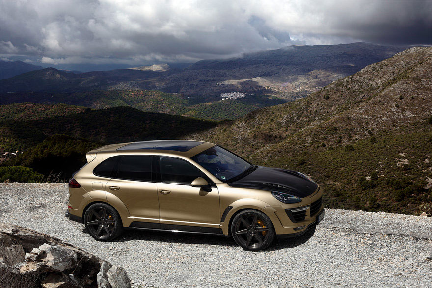 Topcar Porsche Cayenne Turbo Vantage Gold Photo 16 14787