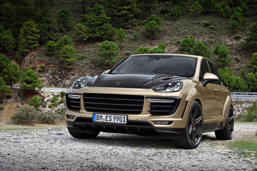 Topcar Porsche Cayenne Turbo Vantage Gold Photo 3 14787