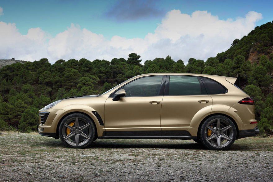 Topcar Porsche Cayenne Turbo Vantage Gold Photo 7 14787