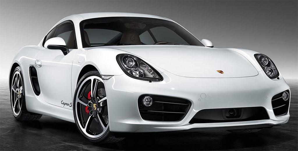 White Porsche Exclusive Cayman S Photo 1 14699