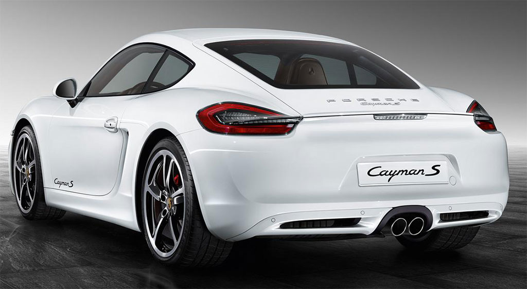 White Porsche Exclusive Cayman S Photo 2 14699