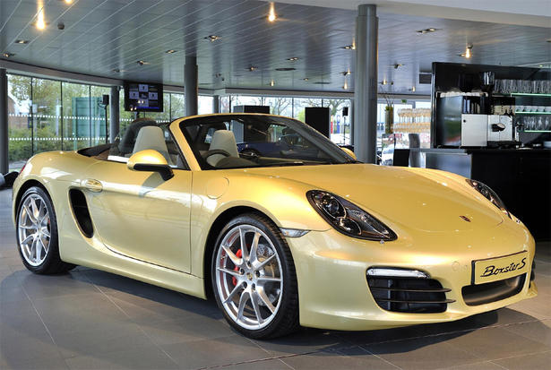 2013 porsche boxster uk price