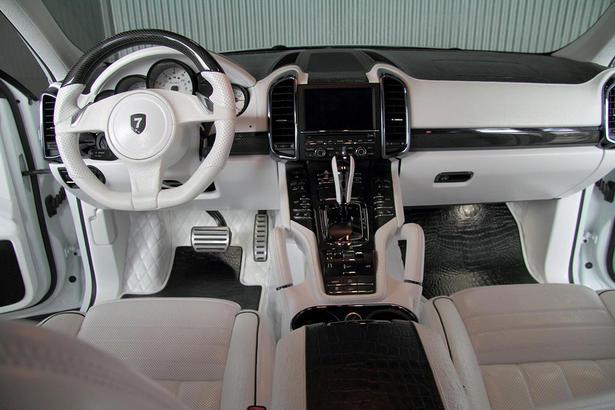 anderson porsche cayenne turbo white dream - Porsche Cayenne Turbo White
