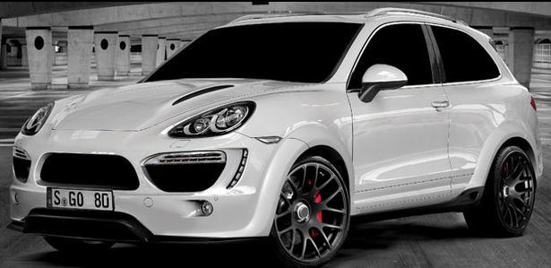 Porsche Cayenne 2 Door