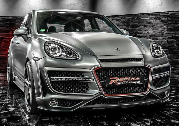 Porsche Cayenne Body Kit By Regula Exclusive