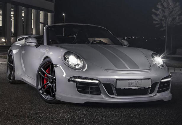 Porsche 911 GTS Body Kit and Interior Upgrades by TechART