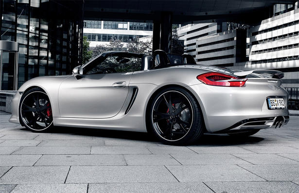 Nissan 370z Aftermarket Parts The Techart Porsche Boxster is also fitted with polished stainless ...