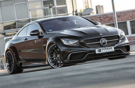 Mercedes S Class Coupe Wide Body Kit by Prior Design Photos