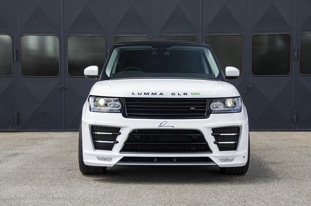 Most Expensive Truck Ever Built >> Lumma 2013 Range Rover CLR SR Photo 5 14061