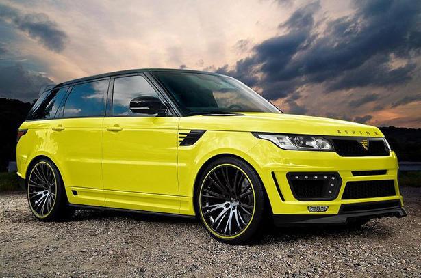Range Rover Sport Body Kit By Aspire Design