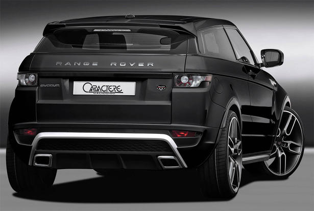 range rover evoque body kit by caractere. Black Bedroom Furniture Sets. Home Design Ideas