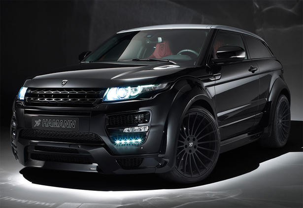 Hamann Range Rover Evoque Gets Movit Brakes