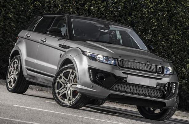 Range Rover Evoque Body Kit By Kahn