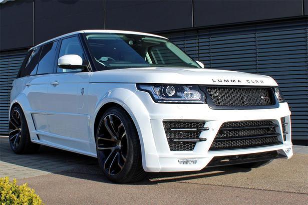 2013 Range Rover Wide Body Kit By Lumma