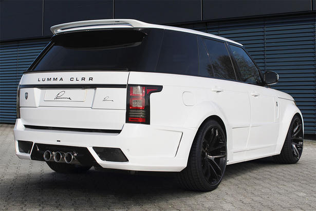 2013 Range Rover Wide Body Kit By Lumma