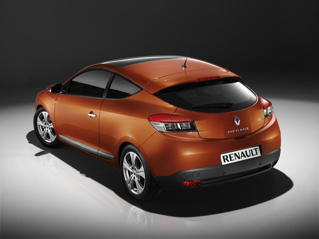 renault megane coupe unveiled. Black Bedroom Furniture Sets. Home Design Ideas