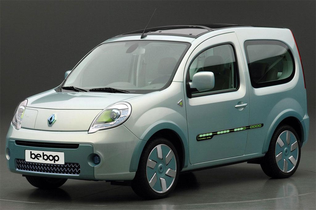 Renault Kangoo Be Bop Ze Photo 1 5840
