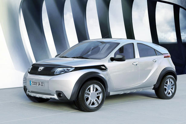 Dacia Duster Production Version Unveiled