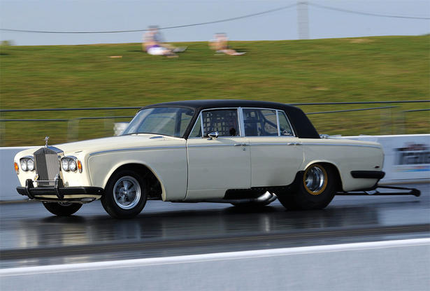The Fastest Rolls Royce In The World